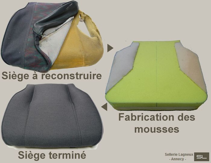 auto p3 les r alisations de la sellerie lagneux annecy. Black Bedroom Furniture Sets. Home Design Ideas